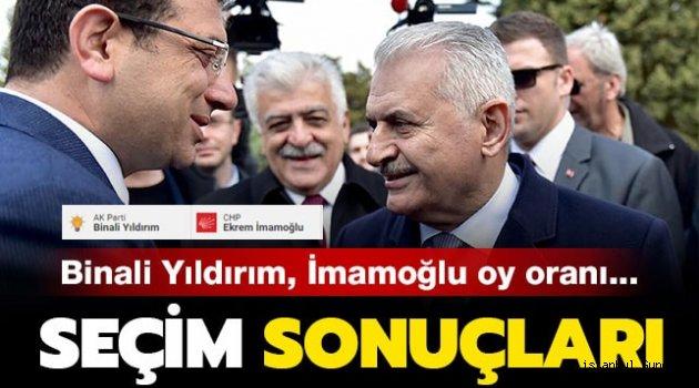 Erdoğan ve Yıldırım, İmamoğlu'nu tebrik etti