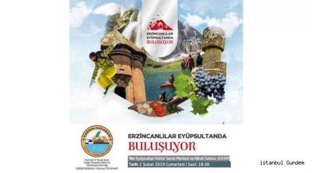 Erzincanlılar Eyüpsultan'da Buluşuyor