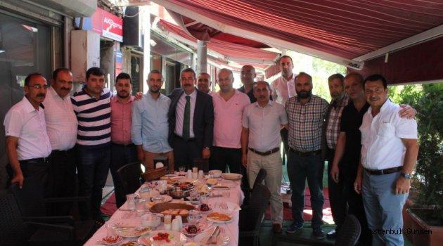 ESDERFED Kahvaltıda Ali Erdoğan'ı Ağırladı