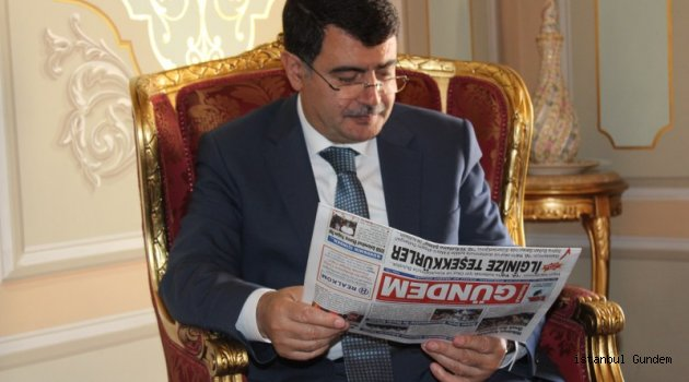 ESDERFED Yönetimi Vali Şahin'i Zyaret Etti