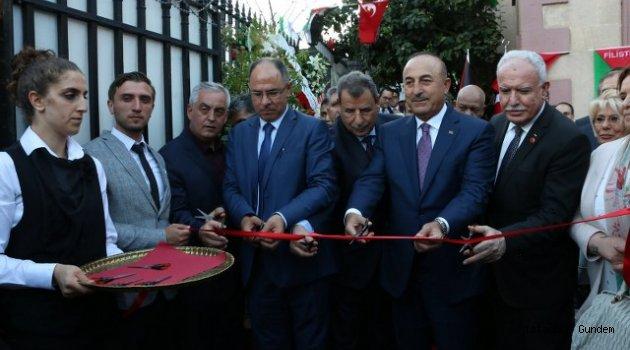 Eyüp' te Filistin Başkonsolosluğu Açıldı
