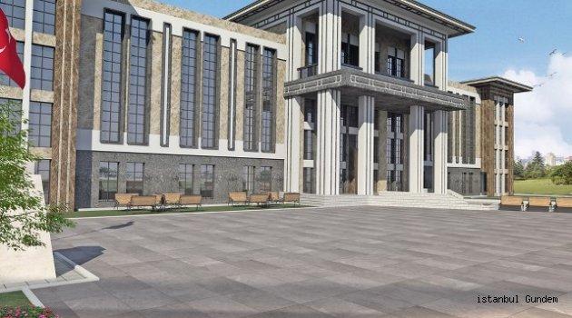Gaziosmanpaşa Hükümet Konağı ile Altyapı ve Çevre Düzenleme Projesinin İhalesi Yapıldı