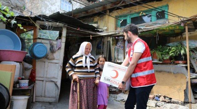 Kızılay'dan Büyük Yardım Kampanyasına Devam