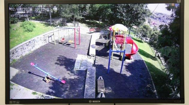Parklar 24 saat canlı izlenebilecek