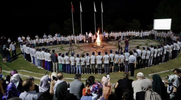 Sultangazili İzciler'den Veda ateşi