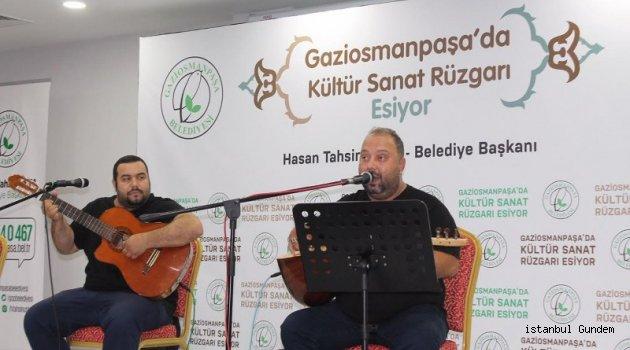 Yurdun Renkleri Konseri, Gaziosmanpaşa'da gerçekleşti