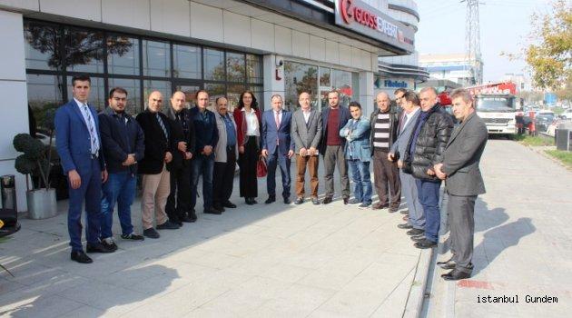 MHP Başakşehir'de Yerel Basınla Buluştu