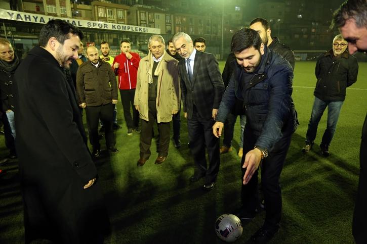 'ŞEHİT ÖMER HALİSDEMİR FUTBOL TURNUVASI' BAŞLADI