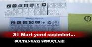 31 Mart Yerel Seçimleri Sultangazi Sonuçları
