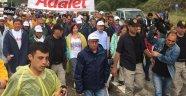 Bakırköylüler Kılıçdaroğlunun Başlattığı Adalet Yürüyüşüne Katıldı