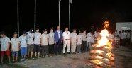 Başkan Altunay Gençlerle İzci Kampında Buluştu
