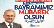Başkan Başssoy Kurban Bayramı Mesajı Yayınladı