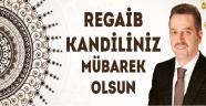 Başkan Usta'dan Regaib Kandili Mesajı