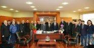 Başkanı Altuntaş Baştan Aydıner' i Ziyaret Etti