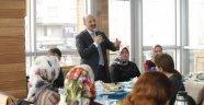Belediye Başkanı Altunay, Kent Gönüllüleriyle Buluştu