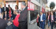 CHP İstanbul Milletvekili Gülay Yedekçi Gazosmanpaşa' da