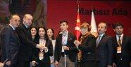 Cumhurbaşkanı Erdoğan El, Ele Verdiniz Engelleri Aştınız Ödülü