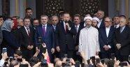 Cumhurbaşkanı, Hacı Osman Torun Camii Açılışına Katıldı