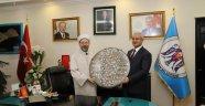 Diyanet İşleri Başkanı Prof. Dr. Erbaş'dan Başkan Başsoy'a Ziyaret