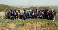 Engelliler Üniversite Öğrencileriyle Birlikte 60 Fidan Dikti