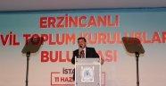 Erzincanlılar, Eyüpsultan'da YILDIRIM'a Tam Destek Oldu