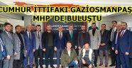 Gaziosmanpaşa Belediye Başkanı Hasan Tahsin Usta' dan MHP'yi ziyaret.