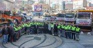 Gaziosmanpaşa Belediyesi 65 Araç ve 300 Personel ile ''Kış''a Hazır