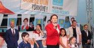 Gaziosmanpaşa' da Meral Akşener Sevdası Meydanlara Sığmadı