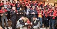 Gaziosmanpaşa'da Vatani Görevlerini Yapacak Gençlere Kınalı Koçlu Uğurlama