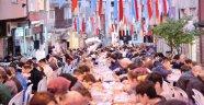 Kağıthane'de Sokak İftarlarına Yoğun İlgi