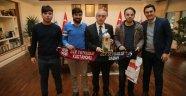 Kastamonulu Gençlerden Teşekkür Ziyareti