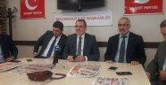 Sultangazi Saadet Partisi Belediye Başkan Aadayı Aydoğdu Basın İle Buluştu