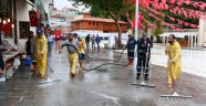 Yoğun Yağış Eyüpte' de Etkili Oldu