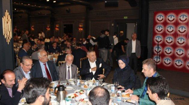 Trabzon Dernekler Federasyonu iftarda buluştu