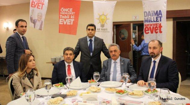 Turgut Çeçen, Milletvekili Yazıcı'yı Ağırladı