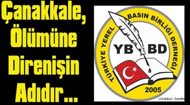 TYBBD Başkanı Çanakkale Zaferi'ni Kutladı