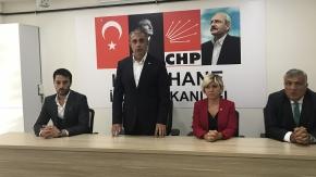 CHP Kağıthane ilçe Örgütü'nden  bayram kucaklaşması